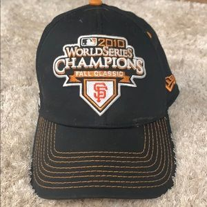 SF GIANTS WORLD SERIES CHAMPS HAT